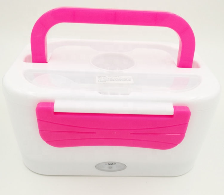METIS durable Electric Heating Lunch Box Bento Food Warmer Container