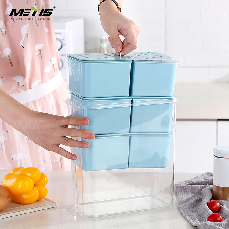 Plastic Microwavable Food Containers Rectangle Reusable Storage Lunch box for meal prepping & Tight Safety Lid