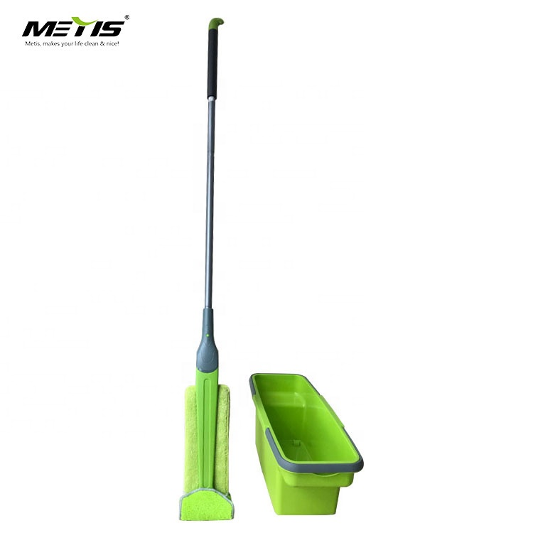 Metis Trade Assurance Lazy Hand Free Double Sides Floor Cleaning Mop Squeeze Flat Mop Hair Cleaner Flexible Flat mop