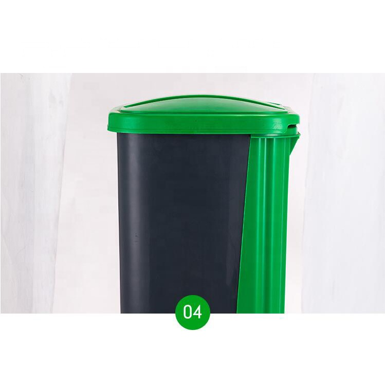 METIS Multi Function Trash Can Outdoor 40L Plastic Waste Bin Durable Garbage Bin