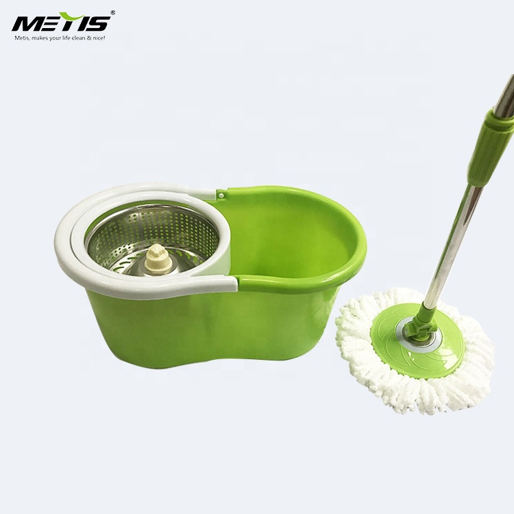 METIS NEW 8907 stainless steel mop stick swift microfiber cleaning tool mop