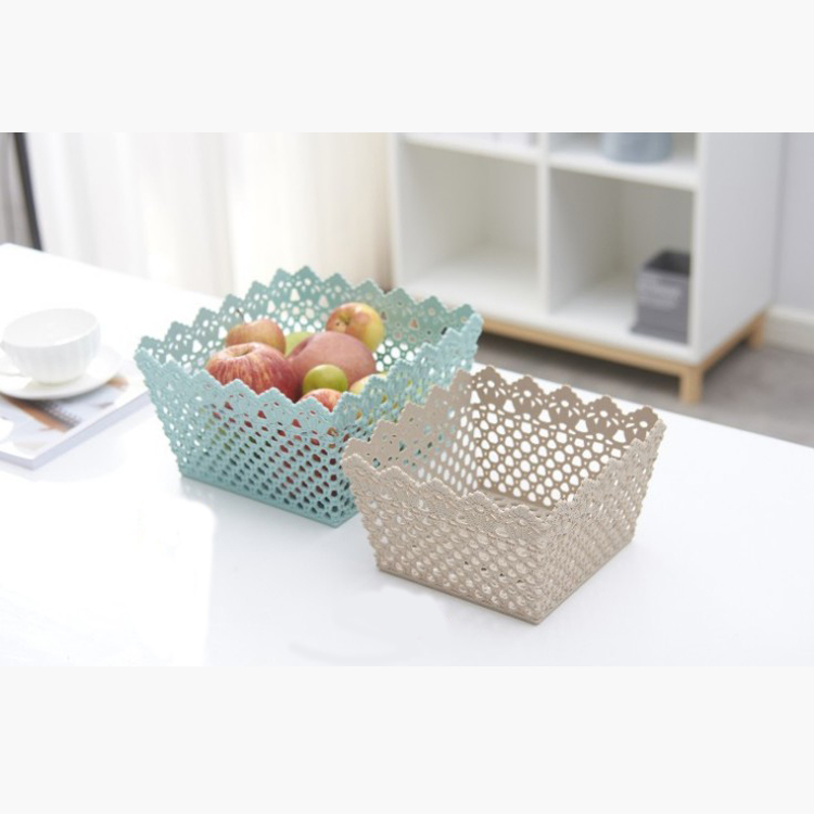 High quality low factory price classroom storage plastic basket