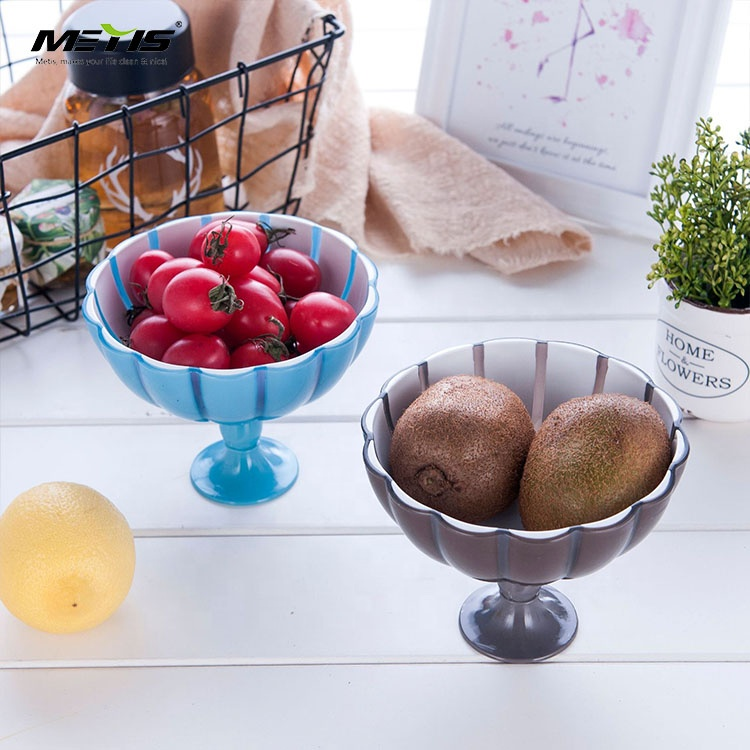 BPA Free Food grade Fruit and Vegetable Tray Plastic Decorative Fruit Plate
