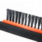 Trade guarantee one head EVA rubber and side broom high quality floor squeegee