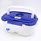 Official and household car usage stainless steel 12V electric lunch box with spoon