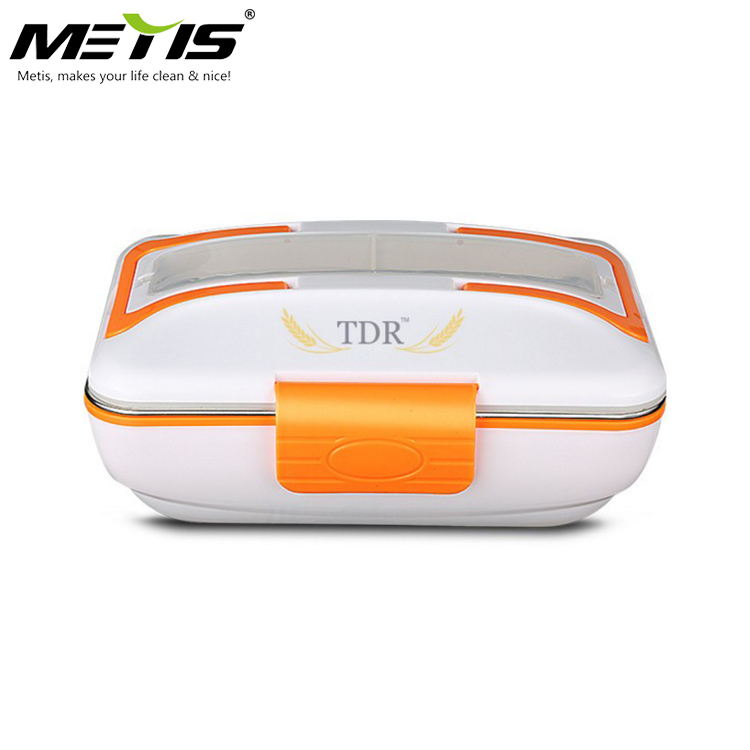 Portable Stainless Steel Food Heater Container Electric Lunch Box