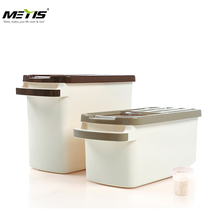 High quality factory price plastic rice bucket rice container