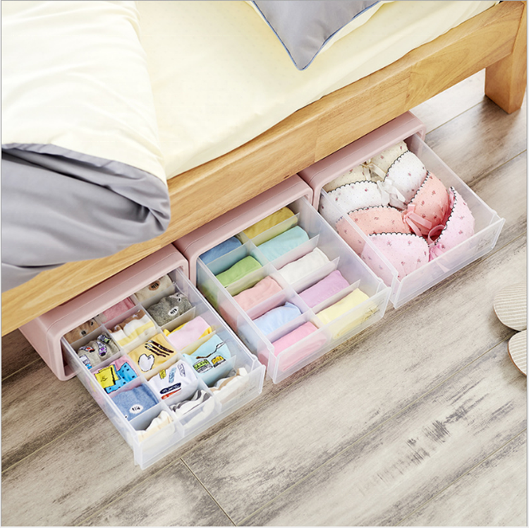 Elegant Underwear Storage Box For Underpant & Socks High Quality Bra Storage Box