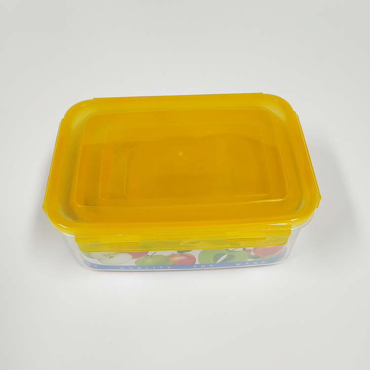 Metis trade guarantee A6007 transparent plastic container with lid