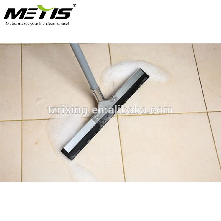 High quality metal squeegee wtih color rubber,stainless steel customizable color squeegee,household floor squeegees