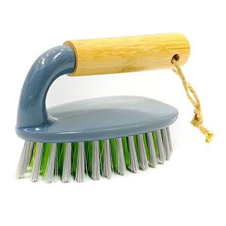 Wholesale Convenience Durable Soft Bristles Household Cloth Washing Brush with different handle material