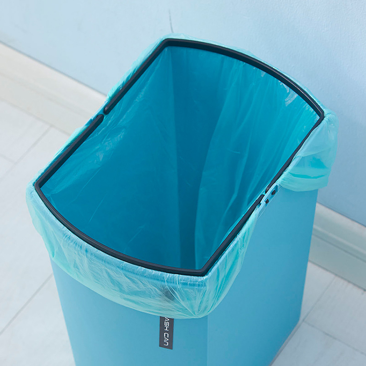 METIS HOT SALE Rectangle Plastic Household multi-color clean trash can