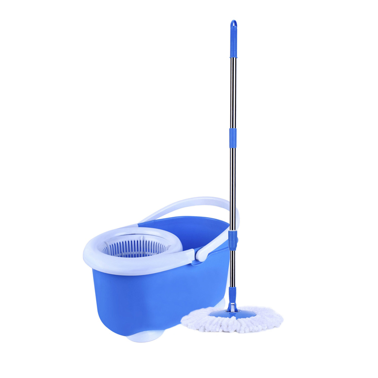 METIS New Product Swift Microfiber Flat Mop Self-cleaning Amphibious telescopic handle Lazy Mop 360 Spin Magic Mop Bucket