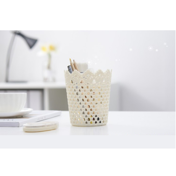 A8014-1 High quality desktop paper basket plastic storage box