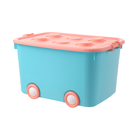 Colorful home usage kids plastic car shape pp storage box