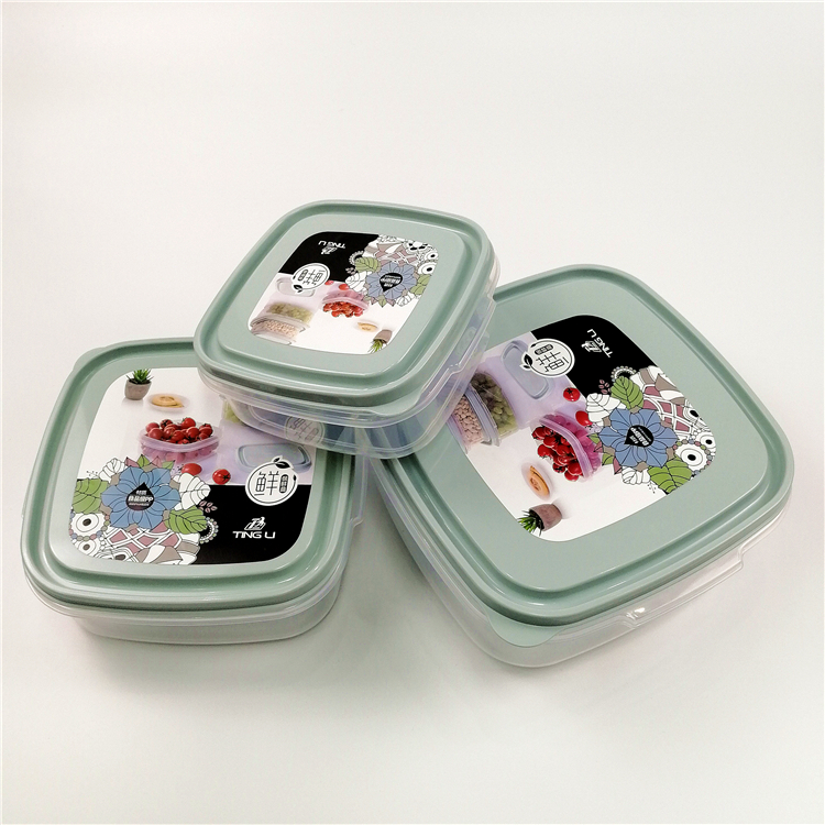 METIS high quality plastic leakproof lunch box