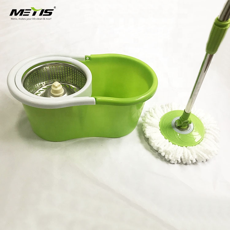 New Style High Quality Easy Cleaning Telescopic Mini 360 Degree Spin Magic Mop