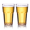 METIS wholesale unbreakable plastic Tritan beer bulk cups