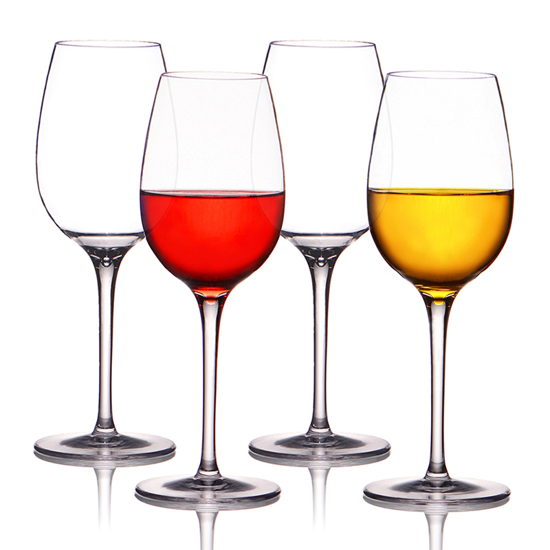Duranble transparent Wine glass stemless BPA Tritan Crystal Cup for Restaurant/Hotel and Home
