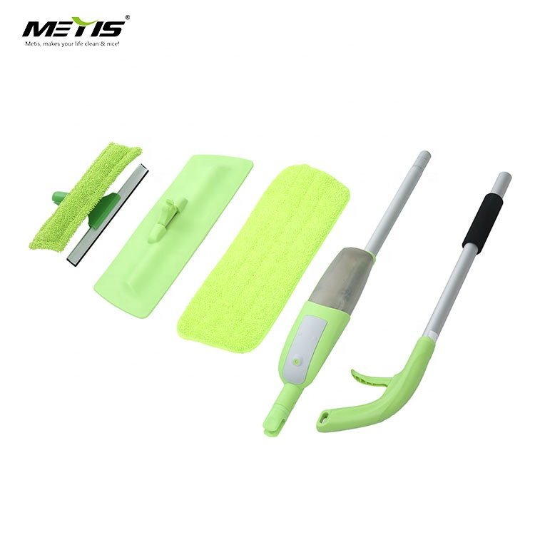 Home Easy Use Mops Aluminum Pole Microfiber Cleaning Soft Floor Foldable Spray Mop