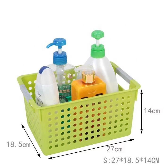Manufacturer kitchen or bathroom storage basket for hair dryer plastic-storage-baskets