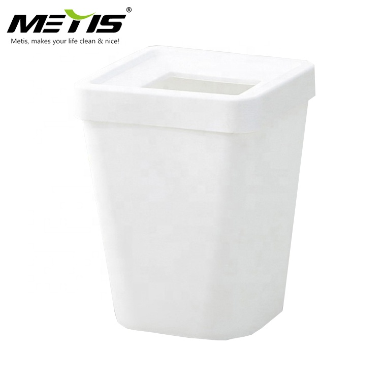 home office stocked B1005-1-G standing open top PP material waste bin