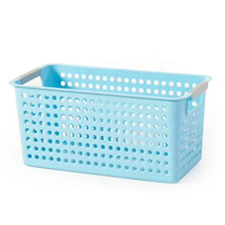 Promotion plastic round creative basket box storage organizer
