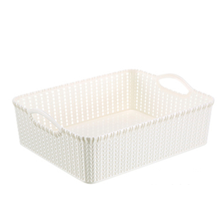 Gold supplier wholesale plastic food storage box plastic kitchen storage basket